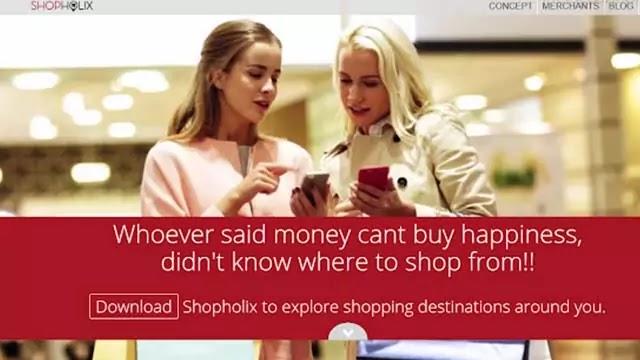Shopholix App