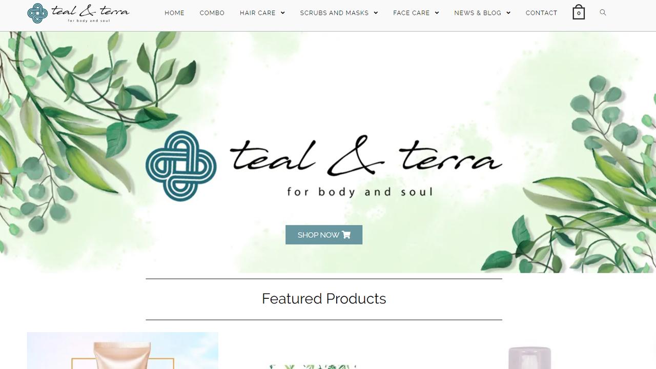Teal & Terra Online Portal