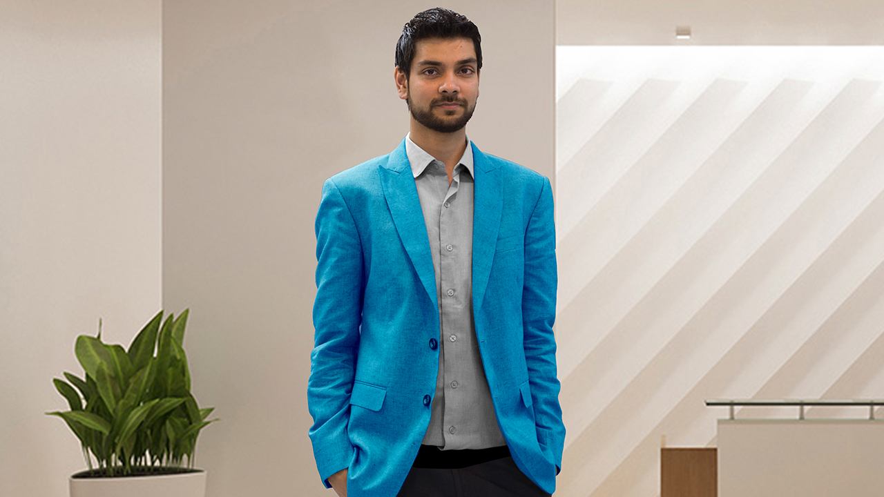 Anshu Raj, Founder of Caterspoint
