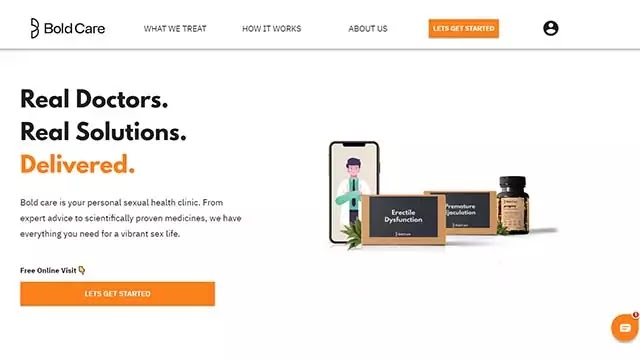 Men's Health and Wellness Startup Bold Care raises Pre-Seed Funding