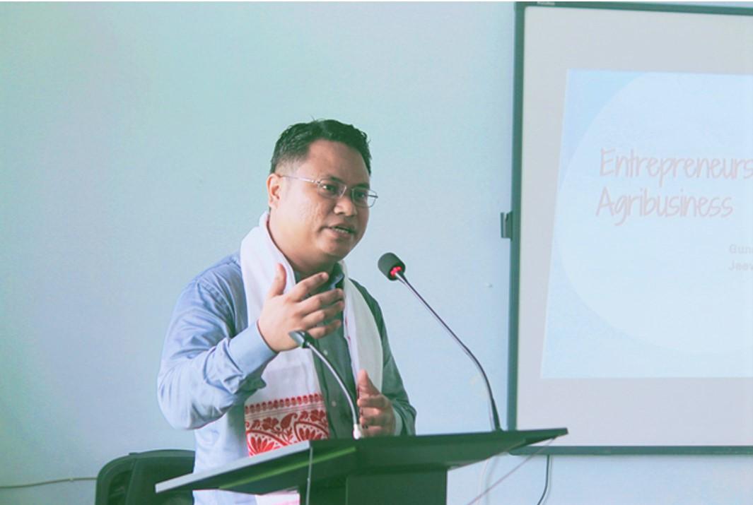 Gunajit Brahma, Managing Director, Jeev Anksh Eco Products