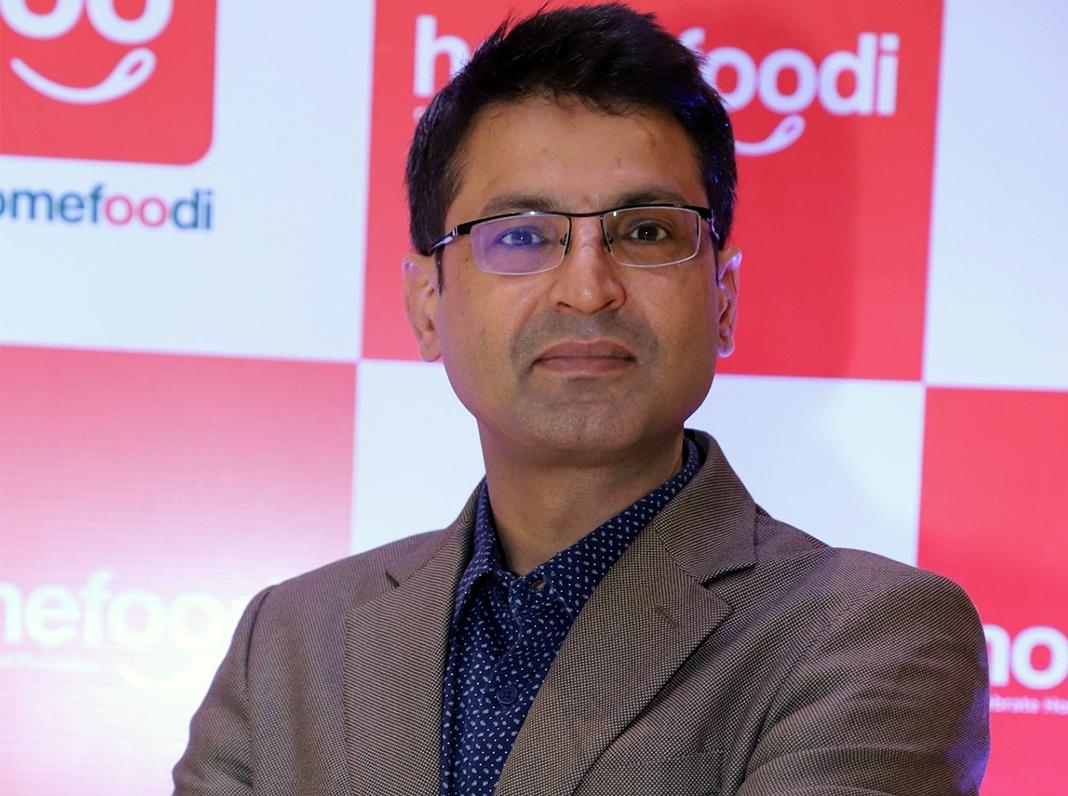 Narendra Singh Dahiya, Founder and Director, Homefoodi