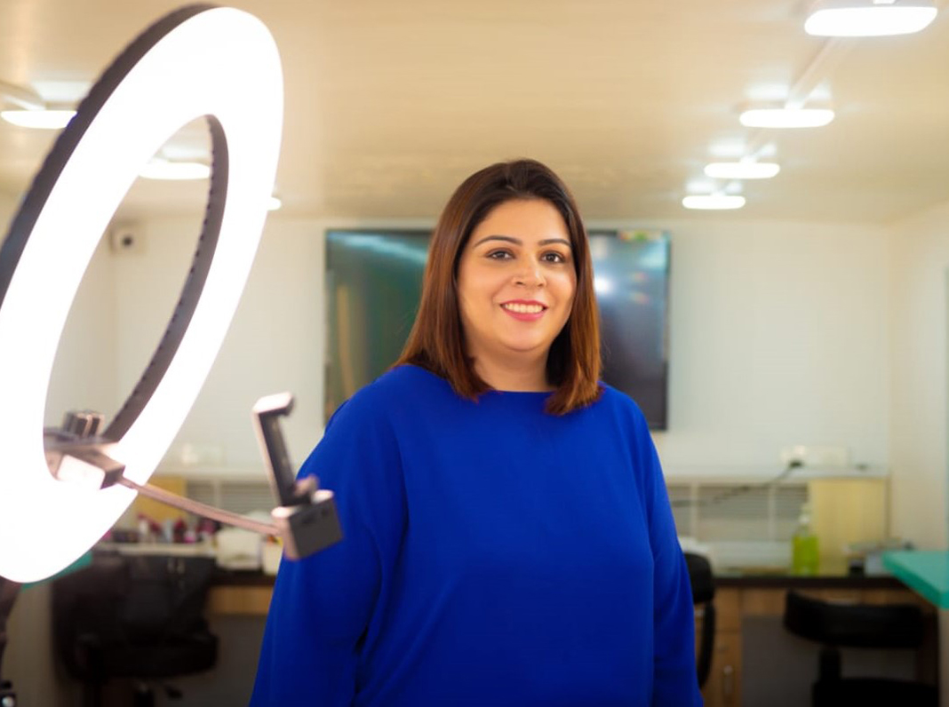 Neha Suradkar, Makeup & Nail Artist and Educator, Founder of Style-n-File Makeup and Nail Studio and Academy