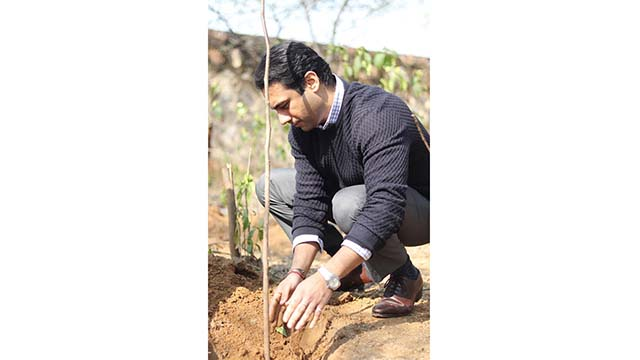 AXA XL in India to plant 30,000 trees and create a Biodiversity Park in Delhi